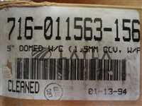 5'' Domed Wafer Clamp 716-11563-156 New