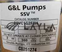 2SVC1G2F0H/-/PUMP WITH BALDOR MODEL CM3155 MOTOR new