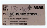 4022.456.21403 SERV.502.27503/4022.456.21403 SERV.502.27503/FlowMeter Assy/400 with Motor-Theta Gripper