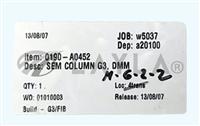 0190-A0452/0190-A0452/SEM Column G3 , DMM