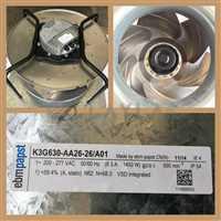 EBM PAPST FAN MODEL K3G630-AA26-26/A01