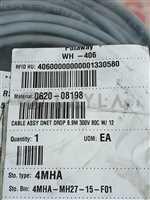 0620-08198//Amat 0620-08198 Cable Assy DNET DROP 8.9M 300V 80C W/ 12