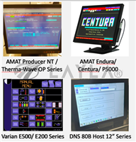 Touchscreen Monitor (For AMAT Producer NT/PI9500 Therma-Wave OP series)