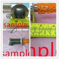 Vacuum Bellows Hose Metal KF-25, 39.37 Inch Tubing, 1m,ISO-KF Flang