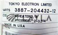 DS3887-204432-12/-/MKS 55-0794; HEATER, PIPE 45 3/8/TEL/-
