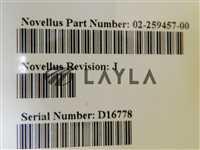 02-259457-00/-/Novellus C3 Vector Spindle Complete Assembly Rev. J Copper Used/Novellus Systems/-