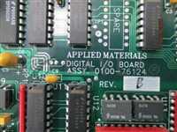 0100-76124/-/AMAT 0100-76124  DIGITAL I/O PCB REV-B/AMAT/